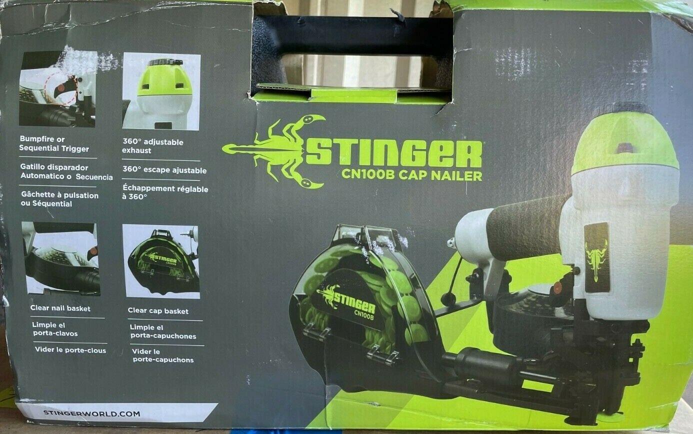 New Stinger CN100B Cap Nailer Model# 136252. Buy it now for 299.95