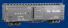 30' Narrow Gauge Box Car kit D&RGW  HOn3  scale