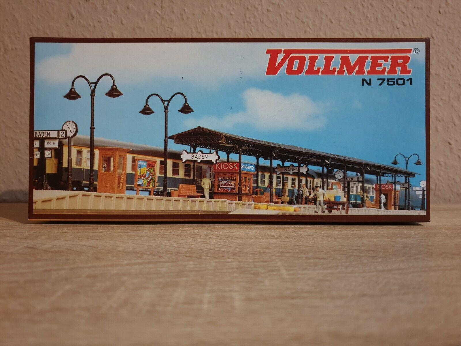 SH Vollmer 47501 Bahnsteig Baden Bausatz Spur N