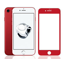 iPhone 7 Plus Screen Protector Premium Full Cover 9H Tempered Glass - Red