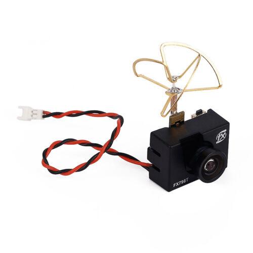 FX798T 5.8G 25mW 40 Channel AV Transmitter With 600 TVL Camera Soft Antenna