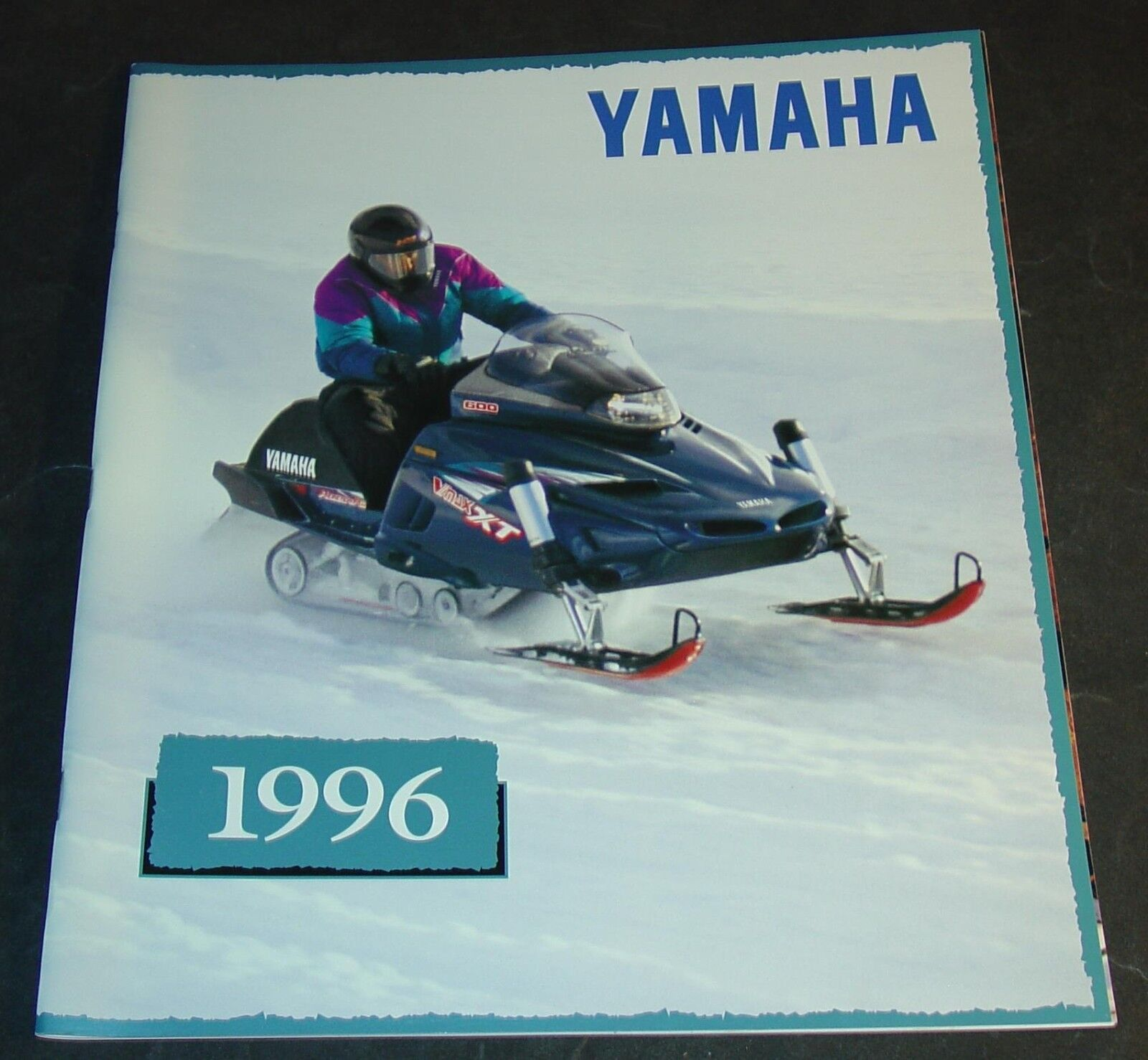 1996 YAMAHA  SNOWMOBILE LARGE SALES BROCHURE 36 PAGES NICE     (410)  affordable