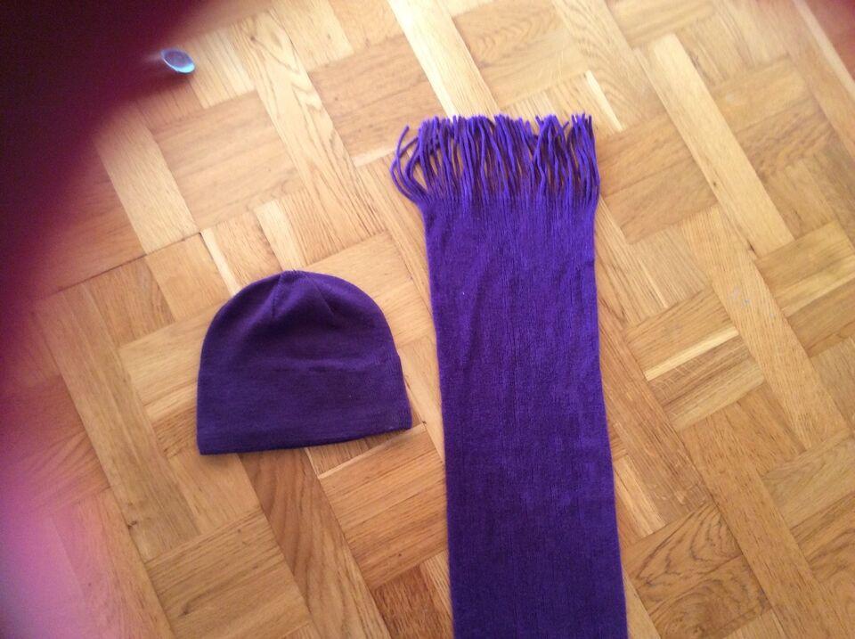 Tørklæde, Tørklæder og hue, Sportsmaster