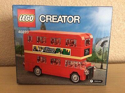 LEGO Creator 40220 London Bus Exclusive Mini Build Promo New In Box
