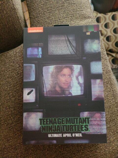 NECA Ultimate April O'neil Figure 1990 Teenage Mutant Ninja Turtles Movie TMNT