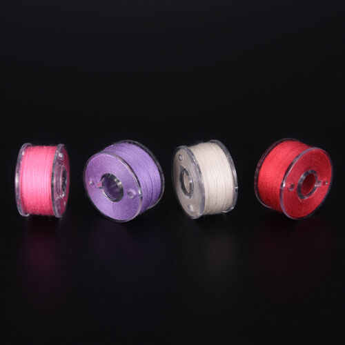 25x Bobbins Sewing Machine Spools  Case With Sewing thread for Sewing Machine、DS