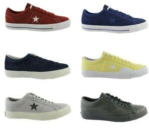 Converse-All-Star-Chuck-One-Star-Ox-Pro-Daim-Baskets-Chaussures-Cuir