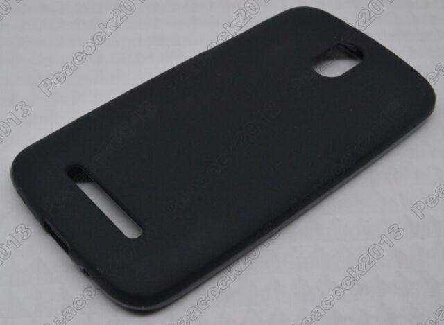Black Matting TPU Silicone CASE Cover For HTC Desire 500