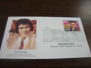 Elvis-Presley-First-Day-Cover-King-Jan-8-1993