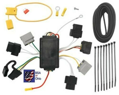 Trailer Hitch Wiring Tow Harness For Mazda Tribute 2005