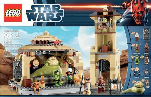 Lego 9516 Star Wars Jabba´s Palace Palace Palace  NEU OVP Ungeöffnet 47f2a7