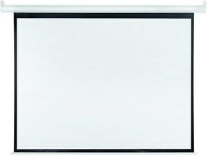 Beamer Leinwand 200 x 150 cm 4:3 Heimkino Rollo Leinwand 3D Full HD 4k LCD DLP