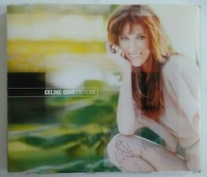 CELINE-DION-CD-PROMO-I-039-M-ALIVE-REMIXES-MAXI-CD