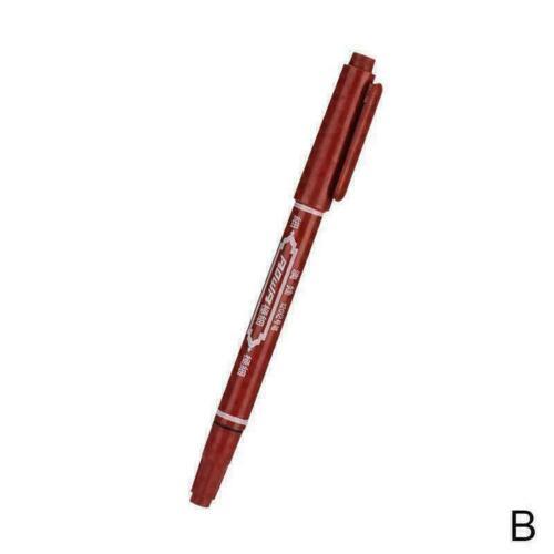 Schnelltrocknende Permanent Marker Stift DIY Ölfarbe Stift Schreibwaren Ler N8L2