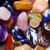 EXTRA LARGE Tumblestones £1.35!!! Healing Crystals Reiki Chakra Gemstones XL