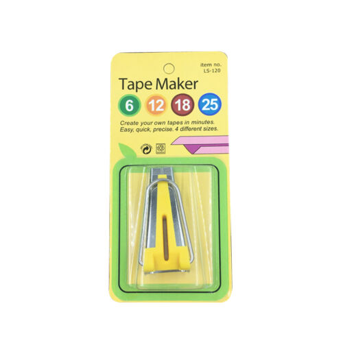 6MM 12MM 18MM 25MM Binding Tool Sewing Quilting Fabric Bias Tape Maker