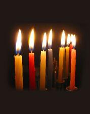 Joblot of 440 Thin COLOURED CANDLES... multi bundle Box wholesale candel Lights