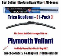 1pk Premium Neoform Wiper Blade Fits 1970-1976 Plymouth Valiant 16140
