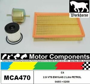 FILTER-SERVICE-KIT-for-CITROEN-C4-2-0i-VTS-EW10J4S-2L-Petrol-04-05-gt-02-09
