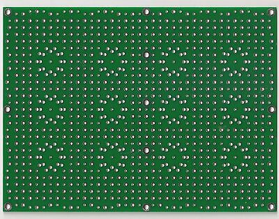 Universal prototyping PCB for tube amplifiers Type II