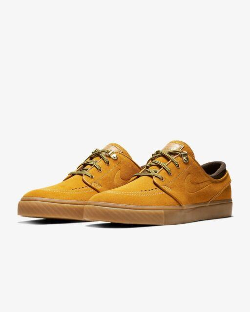 sprawdzić konkretna oferta szybka dostawa Nike SB Zoom Stefan Janoski PRM Bronze/Gum Light Brown Men's Wheat
