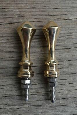 Superb quality Art Deco brass furniture knob handle Z13