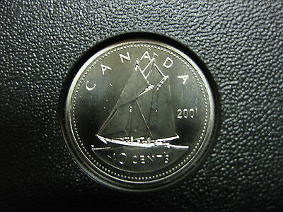 2012 Canadian Specimen Dime $0.10