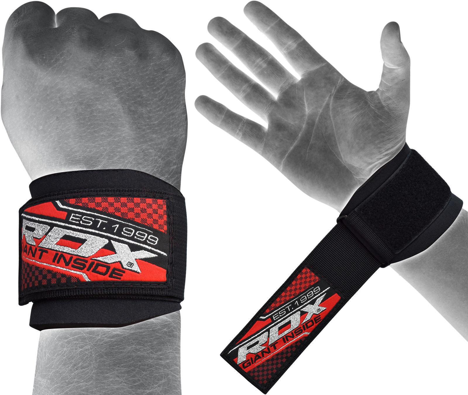 RDX Gym Straps Gewichtheben Gewichtheben Straps Wrist Wrap Fitness Griff Handgelenkschutz Griffhilfe d5949c
