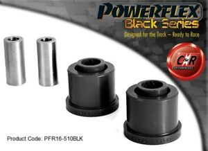 PFF16-601BLK POWERFLEX BLACK SERIES Front Arm Front Bushes fits Punto MK2 99-05