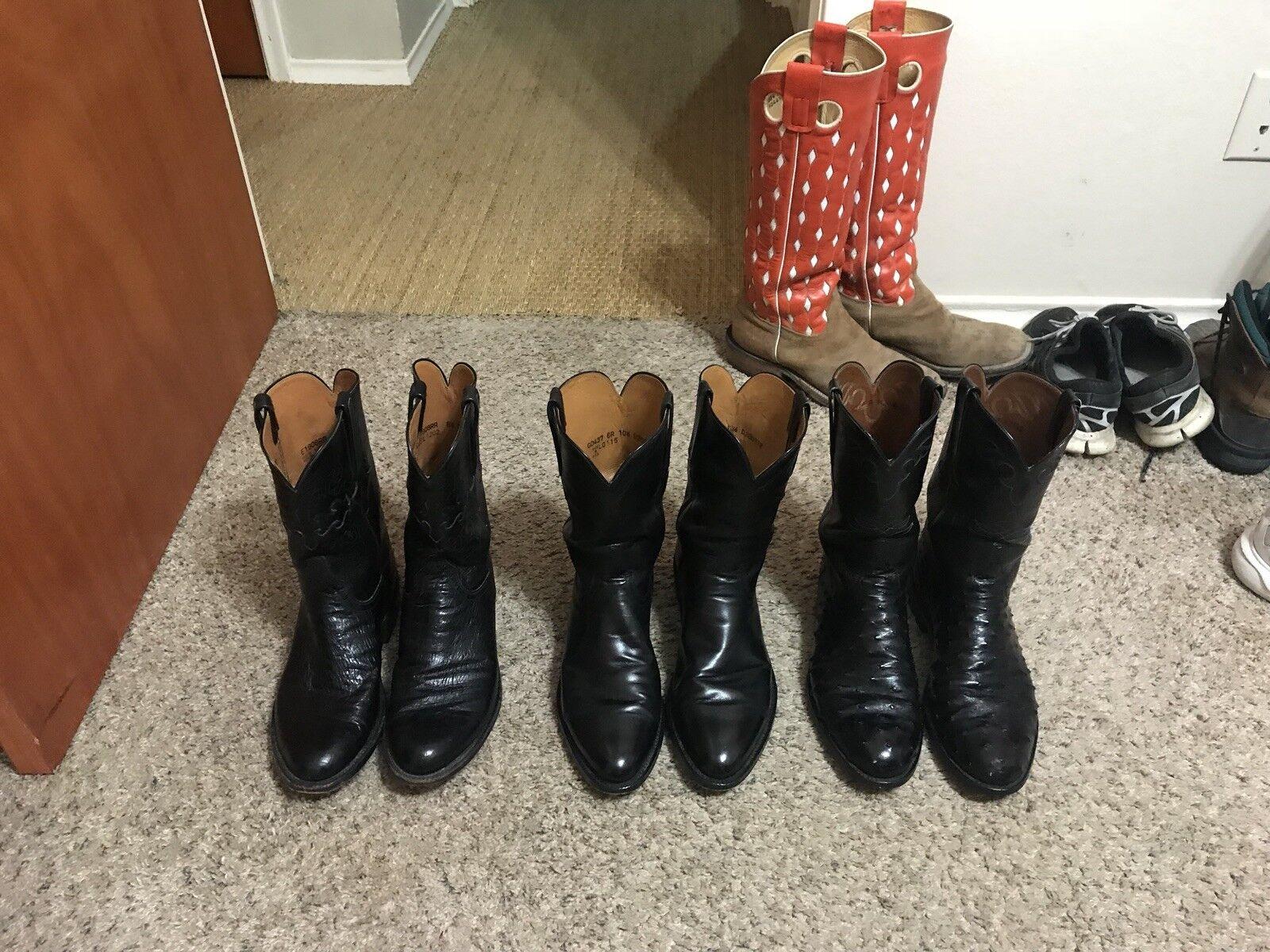 Lucchese Cowboy botas para hombre