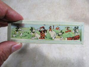 Bundle of 1930s Disney Ensign Magic Lantern Slides includes Snow White complete