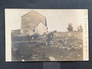 1907 NEWARK NJ RPPC PHOTO POSTCARD ! STAMP MACHINE CANCEL POSTMARK ! NICE L@@K !