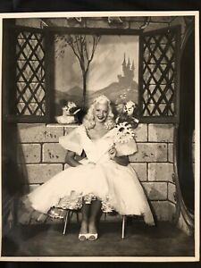 Royalty-PRINCESS-MARY-HARTLINE-1950-s-Chicago-TV-Show-Autographed