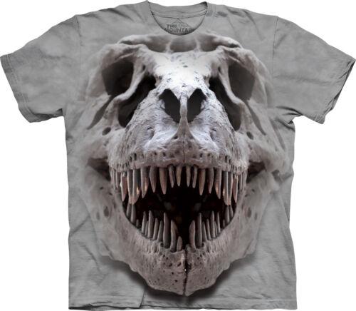 THE MOUNTAIN Big Skull T-Rex Kids//Boys//Child T-shirt fossil//dinosaur//Jurassic