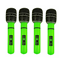 Inflatable-Microphone-Giant-80s-40cm-Blow-Up-Neon-Disco-Karaoke-Party-Mic-X99115 thumbnail 4