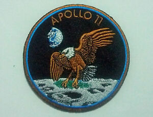 APOLLO 11 nasa Airsoft vest Armor Paintball Hook Fastener embroidered Patch
