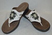 Natural Soul By Naturalizer Women's Stance White Wedge Sandals - Asst Sizes