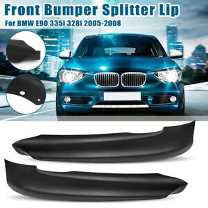 For-BMW-E90-325-335-328-3-Series-2005-2008-PP-Front-Bumper-Lip-Splitter-Spoiler