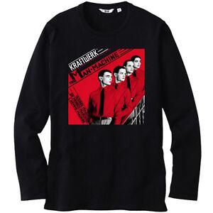New KRAFTWERK AERODYNAMIK Electro Pop Band Men/'s White T-Shirt Size S-3XL