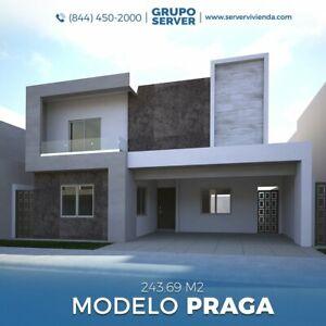 Casa en Venta en Residencial Las Misiones V Sector, Saltillo, Coahuila; Modelo Praga