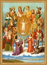 Vierzehn Nothelfer Blasius Achatius Christophorus hlg. St. LW Sankt A2 0137