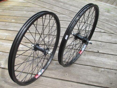 Wheel Set F/&R BMX 3//8 axle 20x1.75 Wei 519 Bolt On Alloy Hubs 36H F//W or No F//W