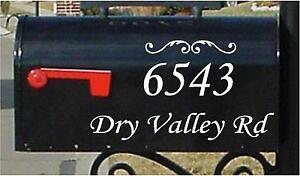 stickers for mailbox mailbox decals mailbox numbers mailbox stickers mailbox  monogram personalized mailbox custom stickers mailbox