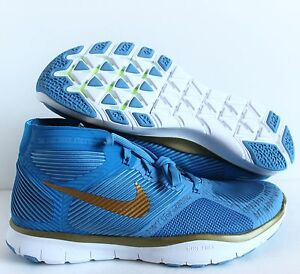 NIKE FREE TRAIN INSTINCT HART HUSTLE HART BLUE/GOLD SIZE MEN 8 [848416-474]