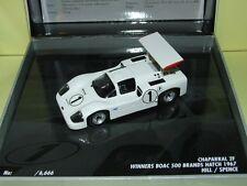CHAPARRAL BOAC 500 BRANDS HATCH 1967 MINICHAMPS 1:43 Arrivée 1èr