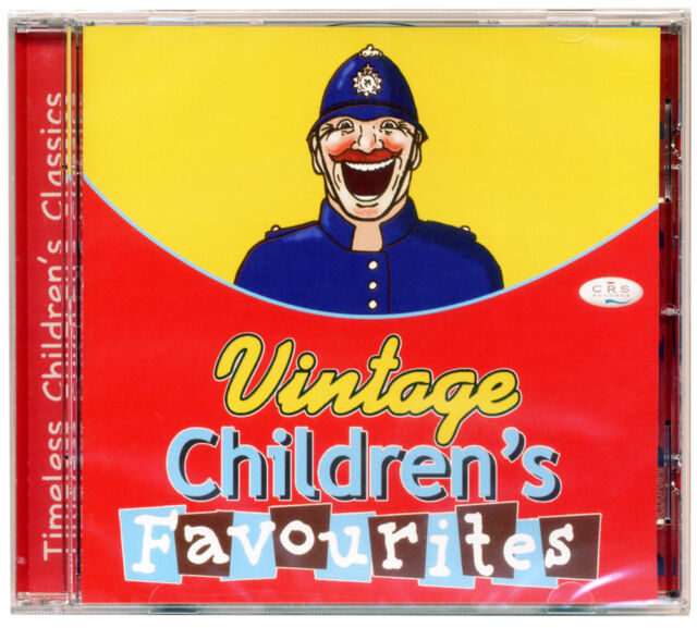 Vintage Children's Favourites CD   20 Timeless Children's Songs  *NEW & WRAPPED*