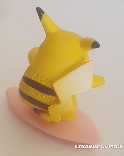 "Pokemon surfing pikachu original takara tomy pvc 2/"""
