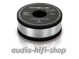 250gr Viablue Lötzinn 4% Silber Bleifrei Silberlot Neu GläNzende OberfläChe Tv, Video & Audio
