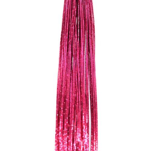 20x 0.55mm Stocking Flower Iron Wire Nylon Flower Making For DIY Handmade Crafts