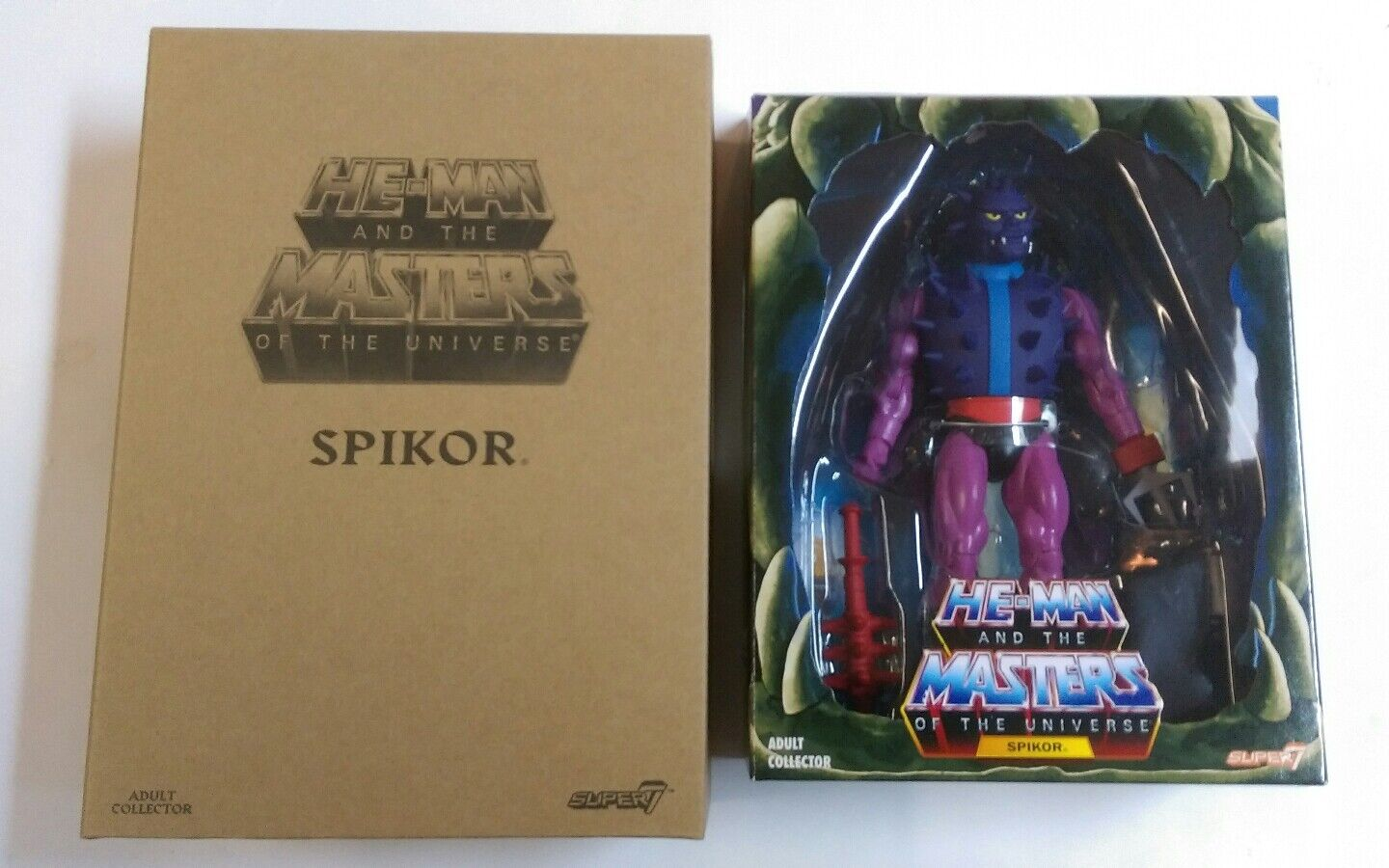 Masters Of The Universe Club grauskull SPIKOR Power-Con Exclusive  Super 7 MOTU